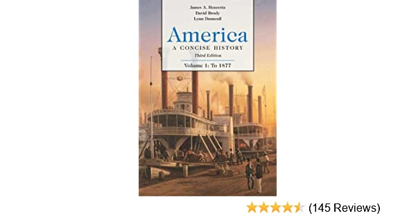 America a concise history volume 1 to 1877 james a henretta america a concise history volume 1 to 1877 james a henretta david brody lynn dumenil 9780312415631 amazon books fandeluxe Choice Image