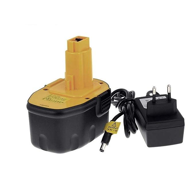 Batería para Dewalt Taladro DC984 Li-Ion cargador incl, 14 ...