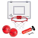 Mini Basketball Hoop with Breakaway Rim - Includes 2 Mini...