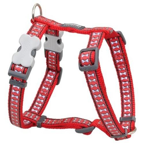 Red Dingo Reflective Dog Harness, X-Large, Red