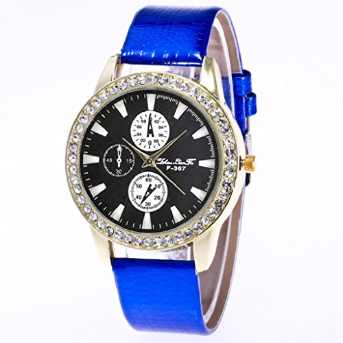 Womens Quartz Wrist Watches,Hosamtel Retro Design Leather Strap Analog Watch A50 - Uk Websites Discount Designer