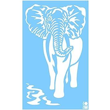 NEU Marabu Schablone 40x66cm Elefant