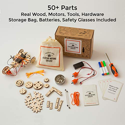 Tinkering Labs Electric Motors Catalyst, Robotics Stem Kit for Kids Age 8-12 by Tinkering Labs (Image #2)
