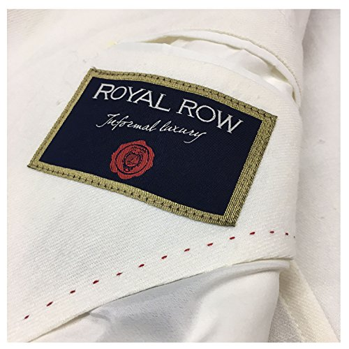 Row Panna Sfoderata Slim Uomo G90s Royal Lino 100 Mod Italy Made London Vestibilità Giacca In xdtqwI