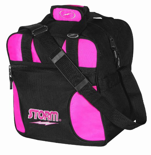 Storm Solo Bowling Bag (1-Ball), Pink Storm Shoulder Bag