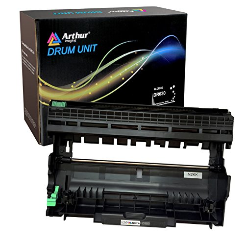 (Arthur Imaging DR630 Compatible Drum Unit Replacement For Brother, works with Brother TN660 toner cartridge)