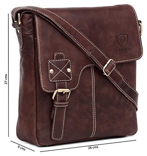 Genuine Bag Pure Flapover Women Handmade Real Hunter Work Messenger Everyday Leather Vintage 100 Mens iPad Crossover Leather Shoulder 4fdRw5Tqq