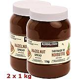 Kirkland signature Hazelnut Spread with Cocoa, 2 Packs, 4.4 lb