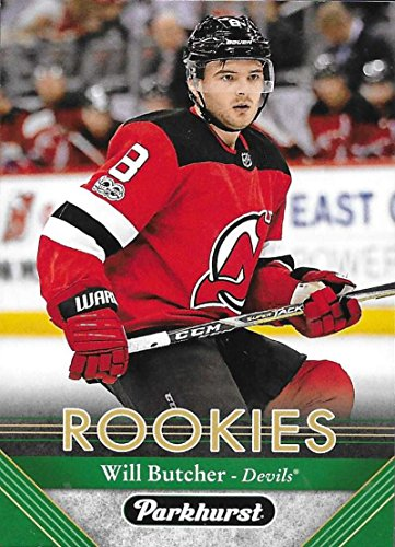 2017-18 Parkhurst #283 Will Butcher RC Rookie New Jersey Devils