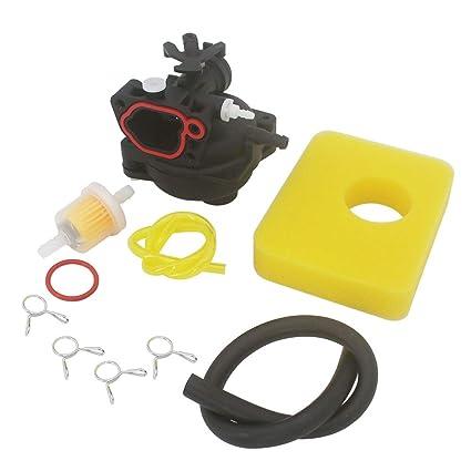 Amazon.com: KIPA Carburetor Kit de mantenimiento de filtro ...