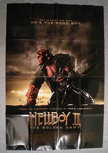 ed3852f82f Amazon.com: HELLBOY II THE GOLDEN ARMY Promo Poster, 2008, Unused ...
