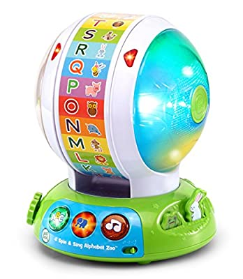 LeapFrog Spin & Sing Alphabet Zoo by V Tech