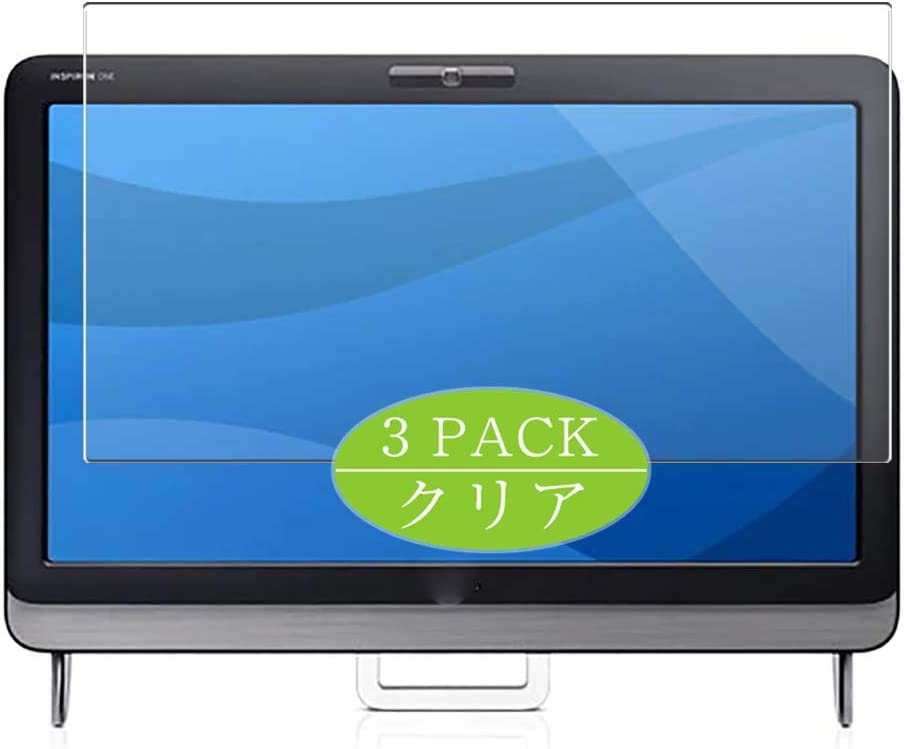 [3 Pack] Synvy Screen Protector, Compatible with Dell Inspiron One 2305 AIO All in One 23