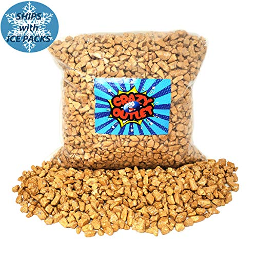 CrazyOutlet Pack - Chocolate Rocks Gold Nuggets, Milk Chocolate Candy, 2 LB Bag]()