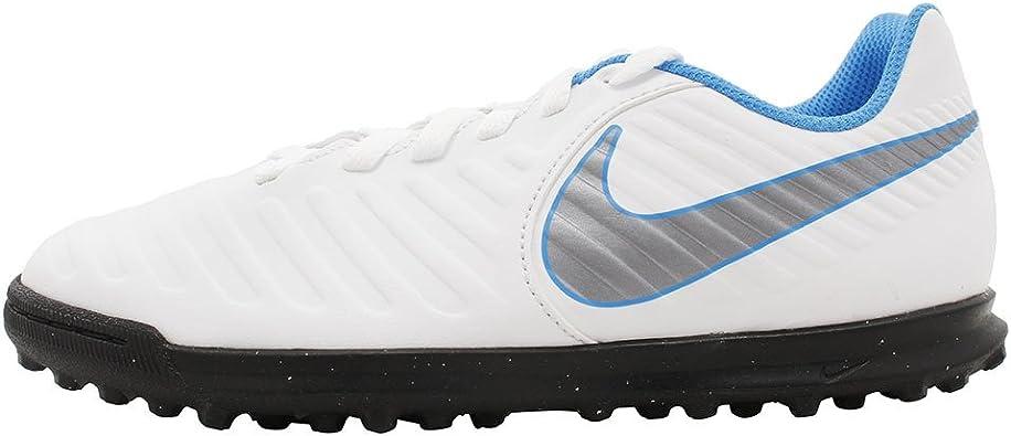 Trágico telegrama Caucho  NIKE Tiempo Legend 7 Club TF Jr Ah7261 107 - Botas de fútbol Unisex Adulto:  Amazon.es: Zapatos y complementos
