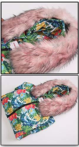 Kaki Ws668 Winter Nouveau À Graffiti Capuche Épaissir Slim Down Tranchée Long Cy1626 Personnalité Parka Veste Femme Warm Ms Chaud Coat Thicken Hiver Manteau Doudoune Jacket SnwU4Szqrx