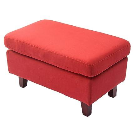 XILANSFD Taburete con sofá Sofá De Tela Taburete De Pie ...