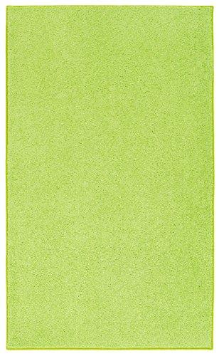 Space Bright Area Rug, 6-Feet by 9-Feet, Lemon Lime (Bright Lime Modern Kids Rug)