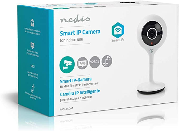 Nedis Smartlife Indoor Camera Smartlife Indoor Camera Kamera