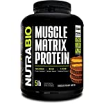 NutraBio Muscle Matrix – Whey Protein Blend (Chocolate Peanut Butter, 5 Pounds)