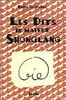 Les dits de maître Shonglang par Gougaud