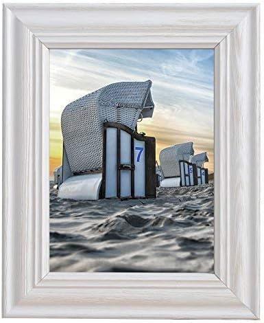 Style maison de campagne cadre photo cadre photo 13x18 shabby chic bois vintage style look