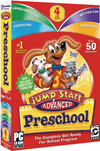 Jumpstart Advanced Preschool Old Version product image