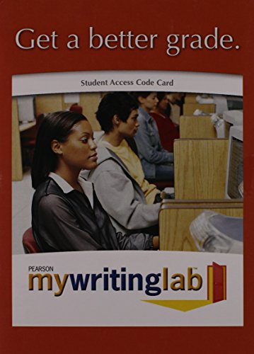 MyWritingLab -- Valuepack Access Card (12-month access)