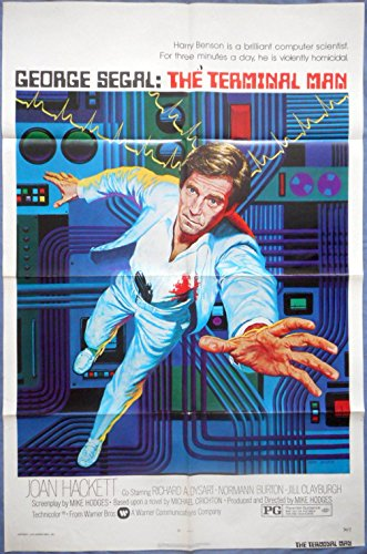 The Terminal Man Movie Poster