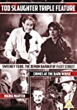 Tod Slaughter Triple Feature ( Sweeney Todd: The Demon Barber of Fleet Street / Crimes at the Dark House / Maria Marten, or The Murder in the Red [ NON-USA FORMAT, PAL, Reg.0 Import - United Kingdom ]