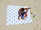 """Microfiber Beach Towel Soft & Oversized - 74""""X74"""" or 73""""X36"""" 