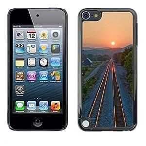 Be Good Phone Accessory // Dura Cáscara cubierta Protectora Caso Carcasa Funda de Protección para Apple iPod Touch 5 // Sunset Beautiful Nature 71