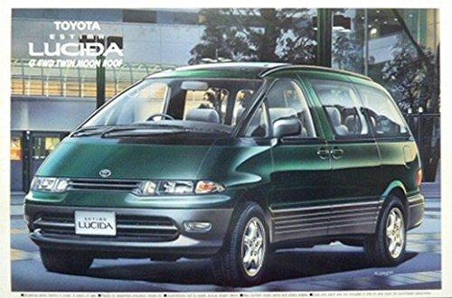 アオシマ 1/24 トヨタ エスティマ ルシーダ G 4WD ツインムーンルーフ仕様車の商品画像