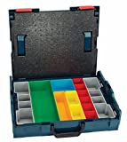 Bosch 17.5 In. x 14 In. x 4.5 In. Stackable Carrying Case with 13 pc. Insert Set