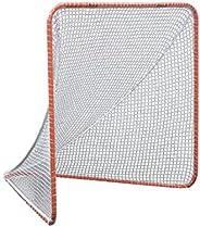 Gladiator Lacrosse Official Lacrosse Goal with a 6mm Net, Orange, 100% Steel Frame, 6 x 6-Foot, Standard, 72″