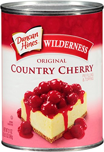 Wilderness Original Pie Filling & Topping, Country Cherry, 21 Ounce (Pack of 12) by Wilderness