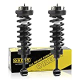 OREDY Front Left & Right Complete Quick Struts Shock Coil Spring Assembly Kit 171369 11380 XS855137220 Compatible with 2003 2004 2005 2006 Ford Expedition & Lincoln Navigator