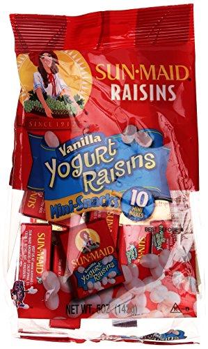 Sun-Maid Vanilla Yogurt Raisins, 5 oz, 10 ct