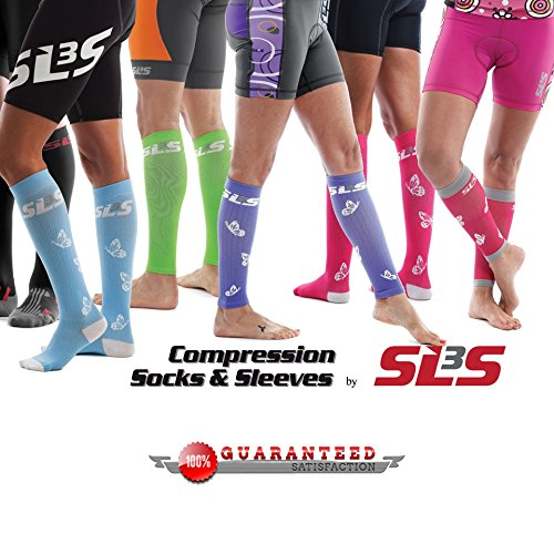 SLS3 FXC Compression Socks, White M/L by SLS3 (Image #5)