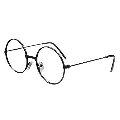 8e7100eec255 Kids Round Glasses Frame - Children Eyeglasses Geek/Nerd Retro Reading  Eyewear No Lenses for Girls Boys - Juleya: Amazon.co.uk: Clothing