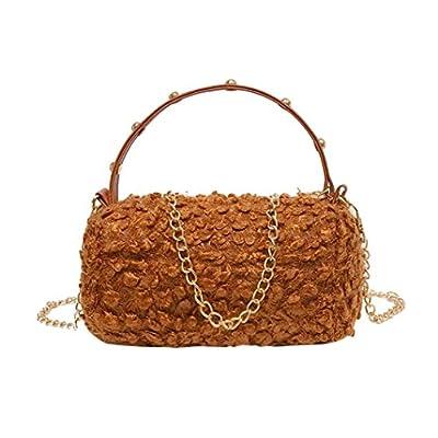 Hot Sale! Clearance! Women Bag,Todaies Women Fashion Lamb Wool Handbag Zipper Bag Shoulder Bag Tote Ladies Messenger Bag