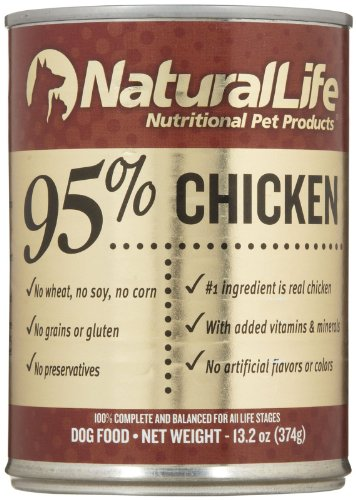 Natural Life 95% Chicken - 12X13.2 Oz