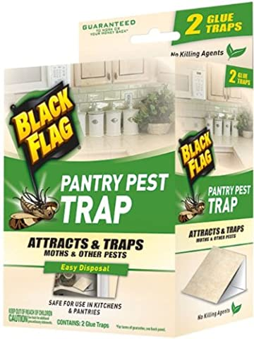 Black Flag 11038 Pantry Pest Trap, 2-Count, Pack of 1 (Moths Spray)