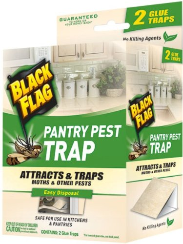 Pantry Moth Control - Black Flag 11038 Pantry Pest Trap, 2-Count, Pack of 1