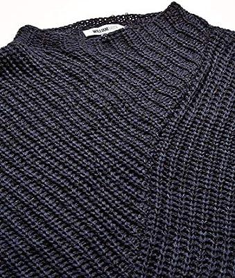 William Rast Womens Robbin Oversize Mock Neck Sweater