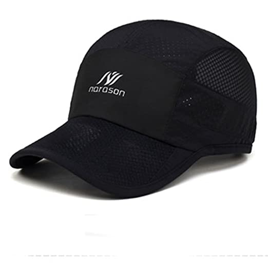 332d739237a Summer Baseball Cap Womens Mens Quick-dry Breathable Mesh Cooling Sun Hats  Long Brim Anti