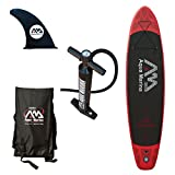 Aqua Marina 340-MONSTER Bt-88884 Inflatable SUP Pack, Red/Black