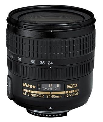 Nikon 24-85mm f/3.5-4.5G ED-IF AutoFocus Zoom Nikkor Lens from Nikon