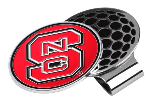 State Clip Carolina North - LinksWalker NCAA North Carolina State Wolfpack Golf Hat Clip with Ball Marker