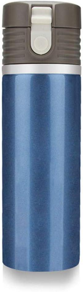 YLOVOW Portable del Coche eléctrico Hervidor climatizada Copa 12v / 24v Viajes Taza cálido Bebida Caliente de calefacción Inteligente con Pantalla LCD de Temperatura y Control, 360ml,Azul